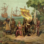 Columbus Taking Possession of the New World